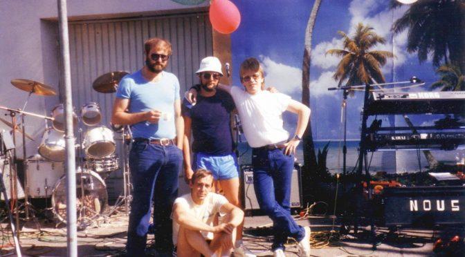 Die Band NOUS – Etwas später in den 80ern…