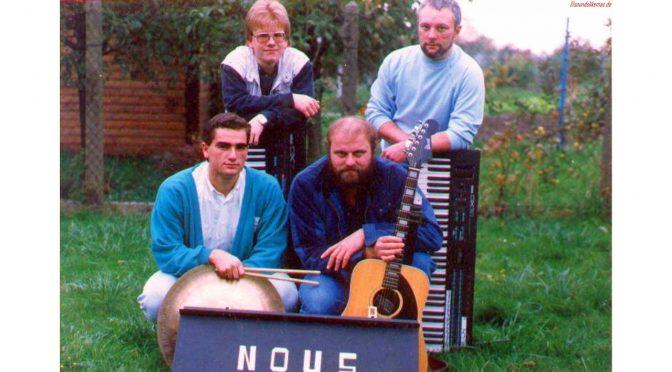 Die Band NOUS – Mitte der 80