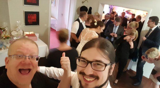Let´s party – Hochzeit von Karina und Jens (mit Slopet)