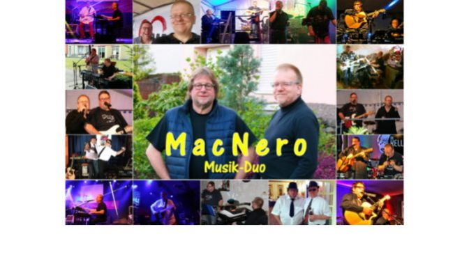 "Neues Pressebild für das ""Mac Nero"" Duo"