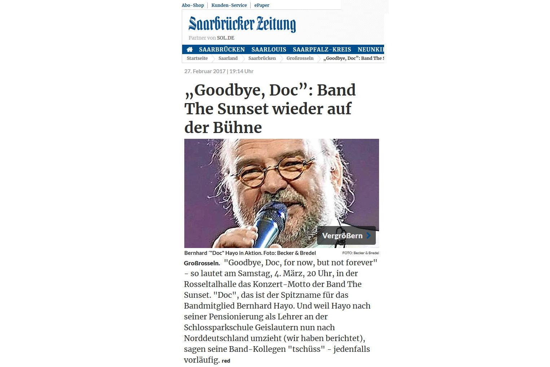 Goodbye Doc…