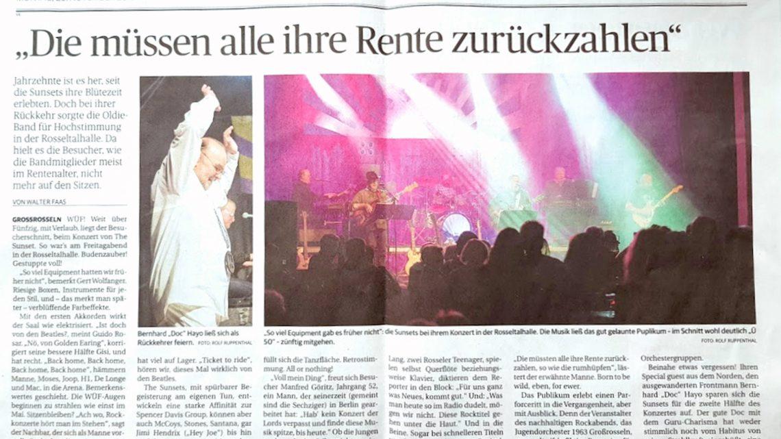 Nachlese der Saarbrücker Zeitung zu unserem Konzert